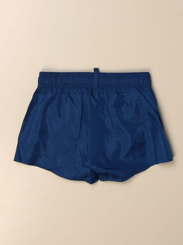 Maillot de bain Dsquared2 Junior: Maillot de bain enfant Dsquared2 Junior bleu 2