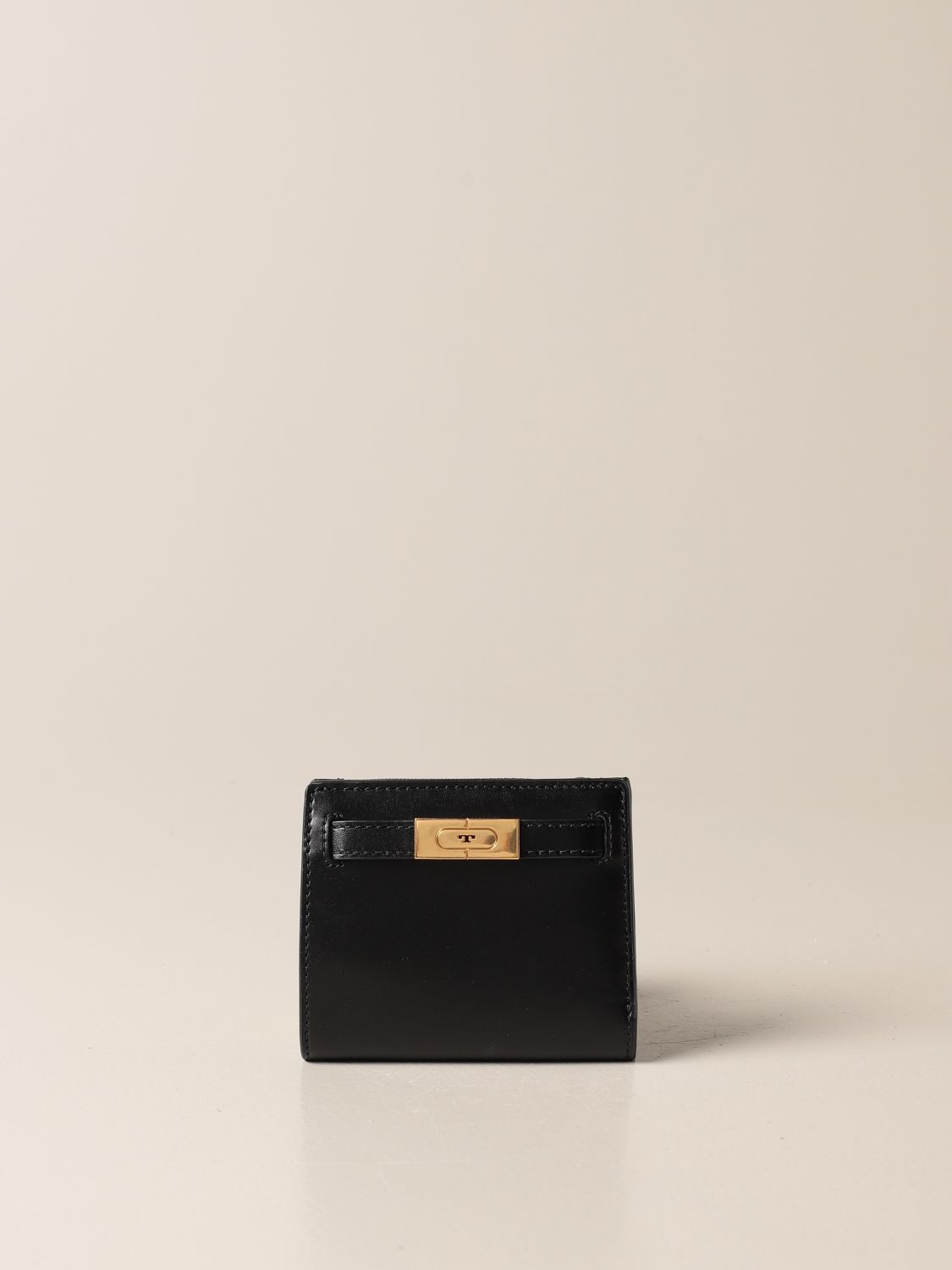 Wallet Tory Burch: Tory Burch wallet in smooth leather black 1
