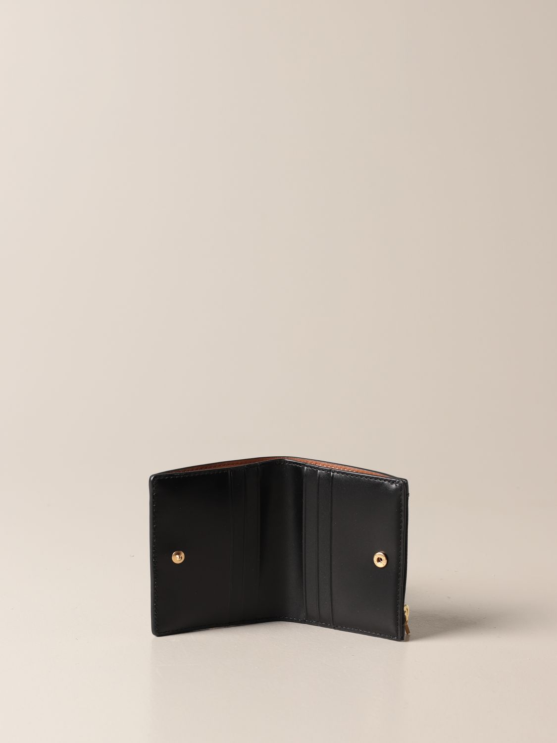 Wallet Tory Burch: Tory Burch wallet in smooth leather black 2