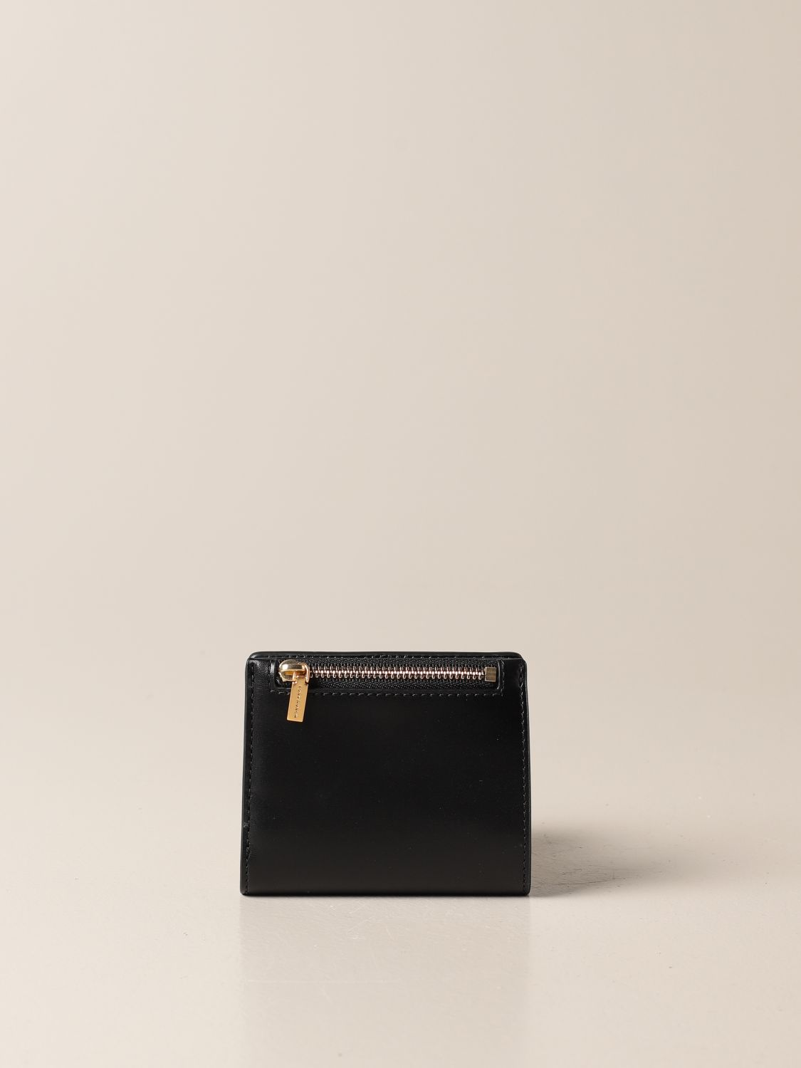 Wallet Tory Burch: Tory Burch wallet in smooth leather black 3