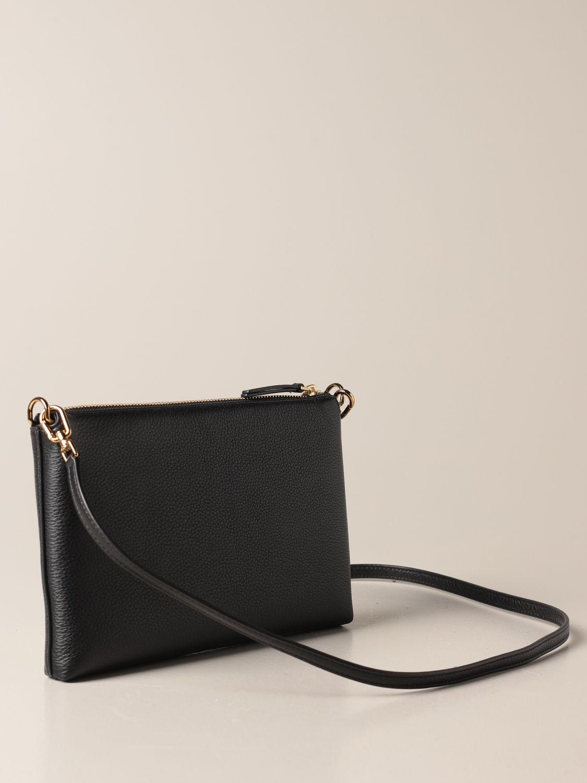 Crossbody bags Tory Burch: Kira Pebbled Tory Burch crossbody bag in textured leather black 2