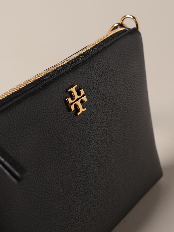 Crossbody bags Tory Burch: Kira Pebbled Tory Burch crossbody bag in textured leather black 3