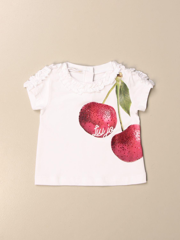 T-Shirt Liu Jo: T-shirt kinder Liu Jo weiß 1