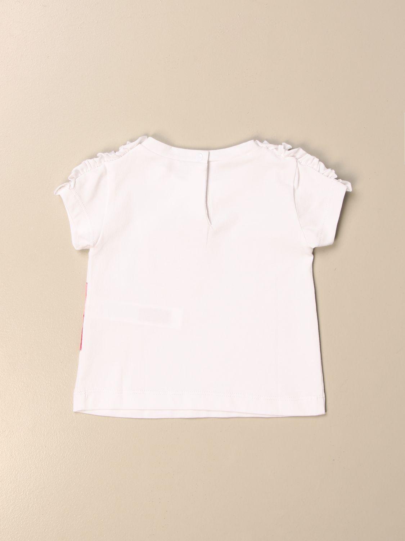 T-Shirt Liu Jo: T-shirt kinder Liu Jo weiß 2