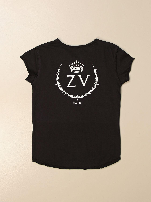 Camiseta Zadig & Voltaire: Camiseta niños Zadig & Voltaire negro 2