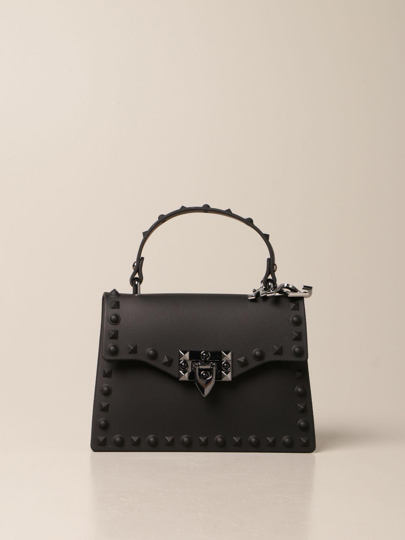 Bag Monnalisa: Monnalisa crossbody bag in pvc black 1