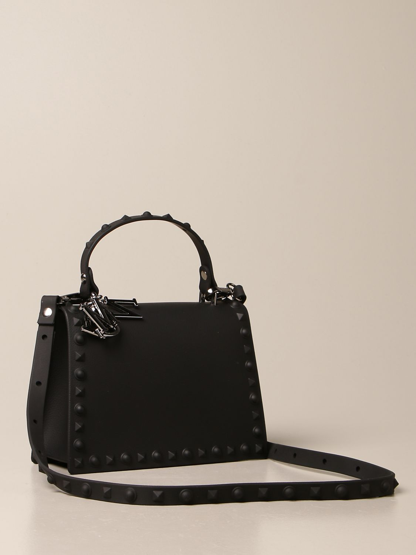 Bag Monnalisa: Monnalisa crossbody bag in pvc black 2