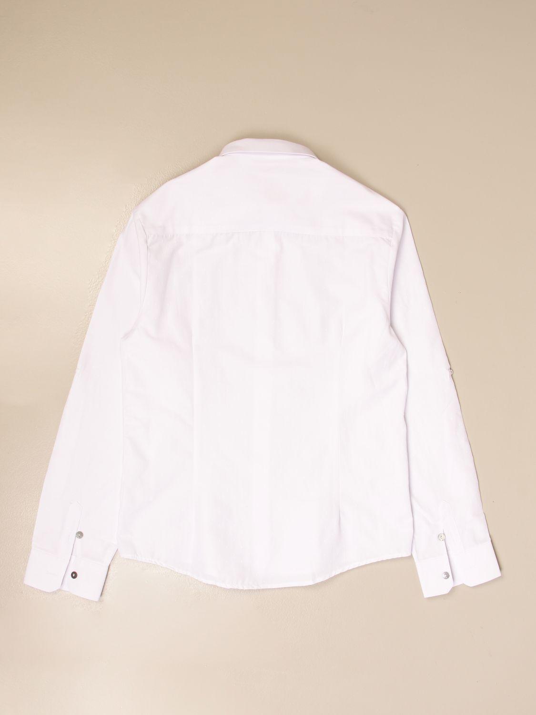 Camisa Daniele Alessandrini: Camisa niños Daniele Alessandrini blanco 2