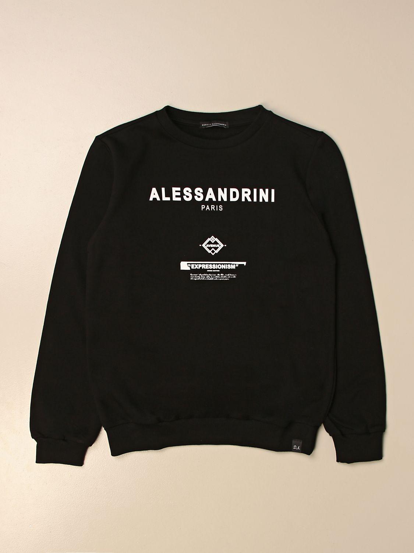 Jersey Daniele Alessandrini: Jersey niños Daniele Alessandrini negro 1