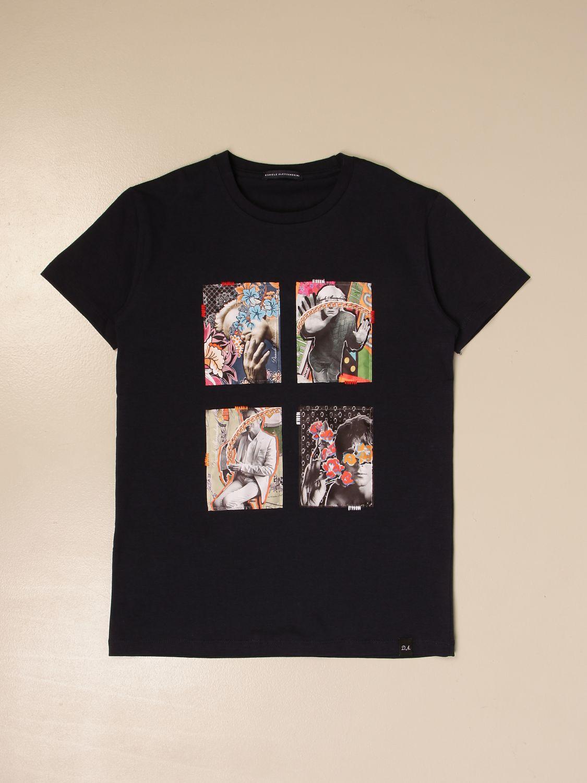 Camiseta Daniele Alessandrini: Camiseta niños Daniele Alessandrini azul oscuro 1