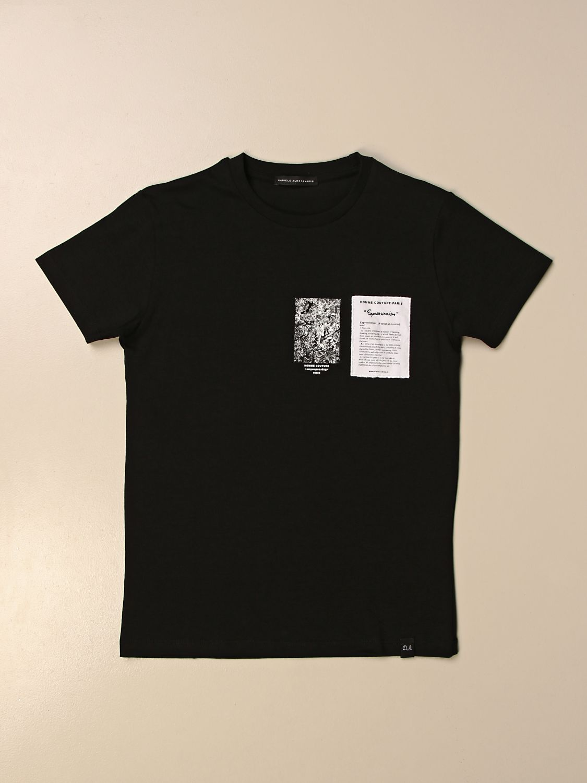 Camiseta Daniele Alessandrini: Camiseta niños Daniele Alessandrini negro 1