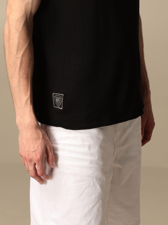 T-shirt Blauer: Pull homme Blauer noir 3