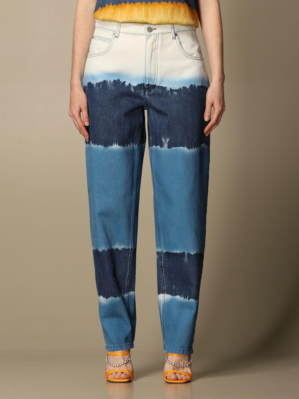 Jeans Alberta Ferretti: Trousers women Alberta Ferretti blue 1