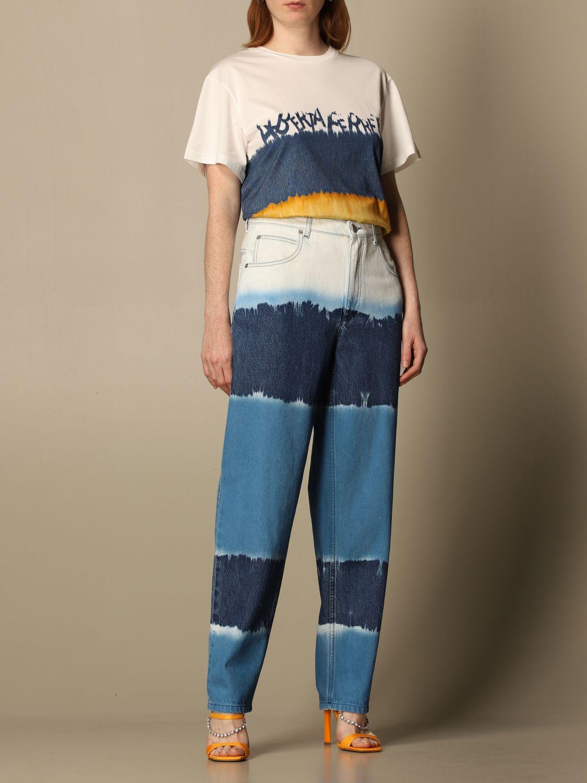 Jeans Alberta Ferretti: Trousers women Alberta Ferretti blue 2
