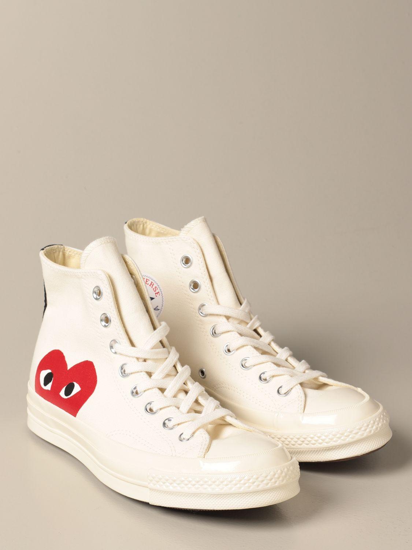 Trainers Comme Des Garcons Play: Shoes men Comme Des Garcons Play beige 2