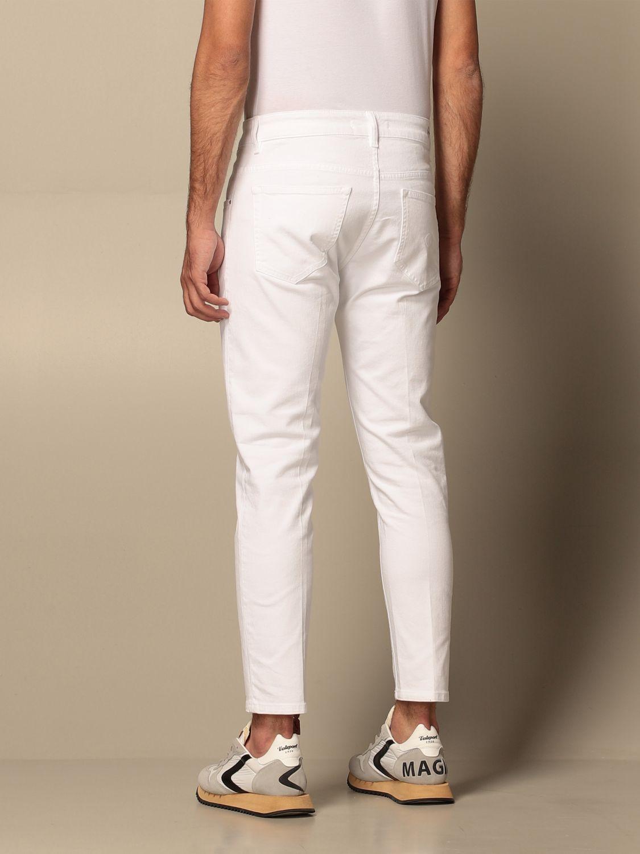 Jeans Don The Fuller: Jeans men Don The Fuller white 2