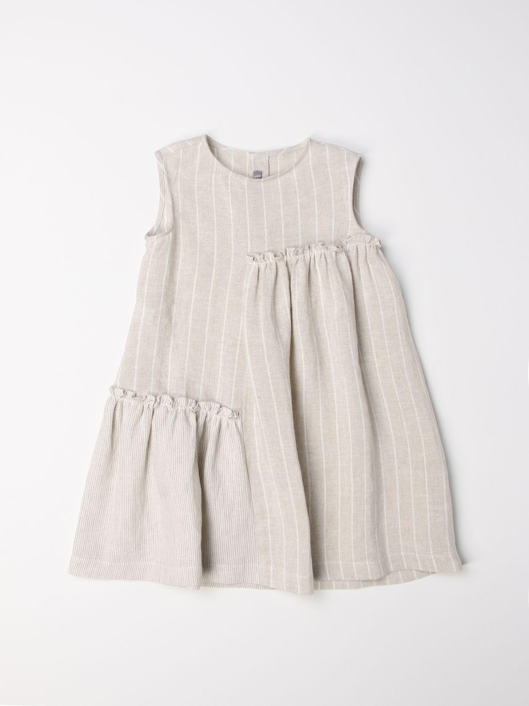 Robe Il Gufo: Robe enfant Il Gufo beige 1