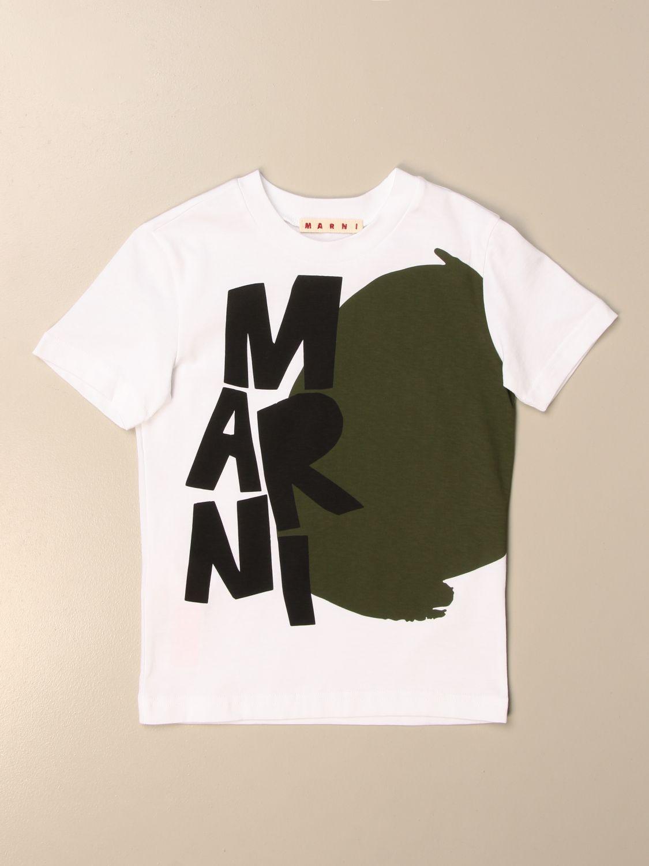 Футболка Marni: Футболка Детское Marni белый 1