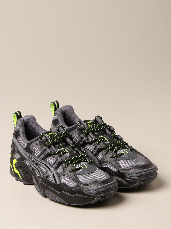 Sneakers Asics: Sneakers Gel-Nandi Asics in tessuto e pelle sintetica nero 2