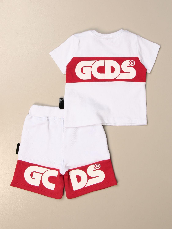 Jumpsuit Gcds: Gcds t-shirt + jogging shorts set white 2