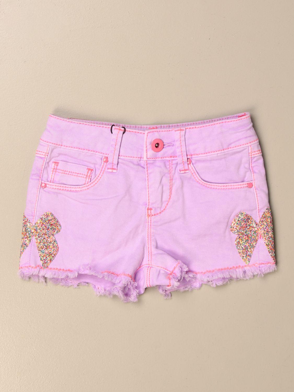 Pantalones cortos Billieblush: Pantalones cortos niños Billieblush rosa 1