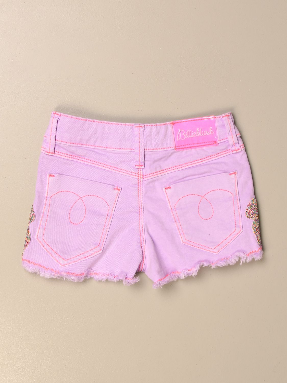 Pantalones cortos Billieblush: Pantalones cortos niños Billieblush rosa 2