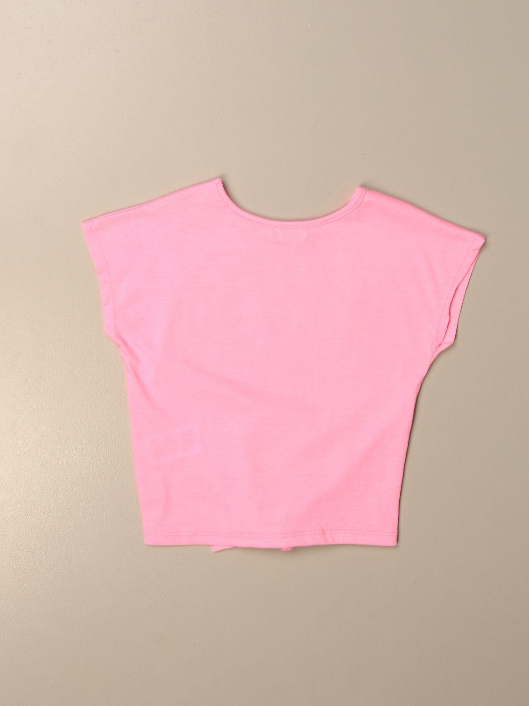 Camisetas Billieblush: Camisetas niños Billieblush rosa 2