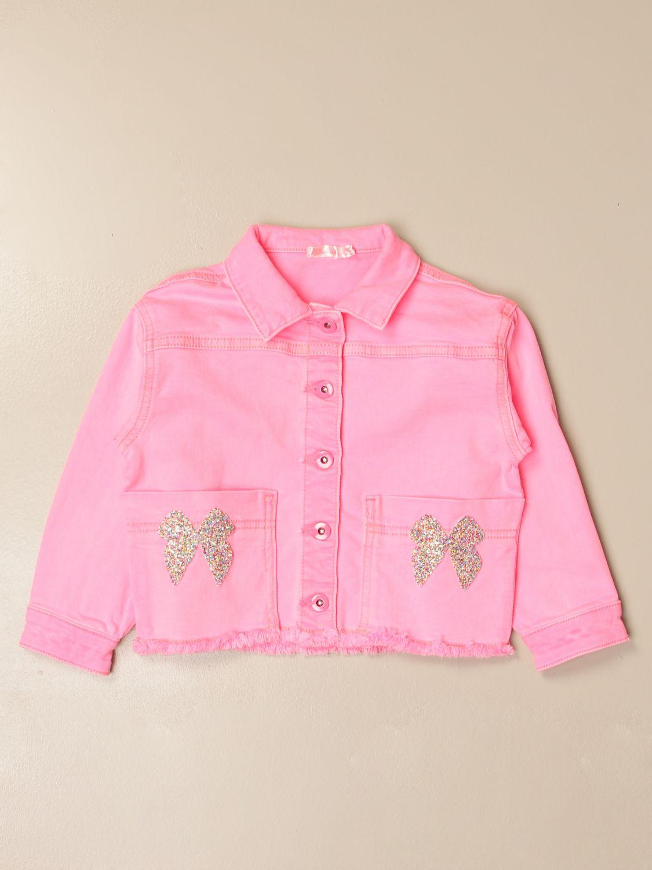 Chaqueta Billieblush: Chaqueta niños Billieblush rosa 1