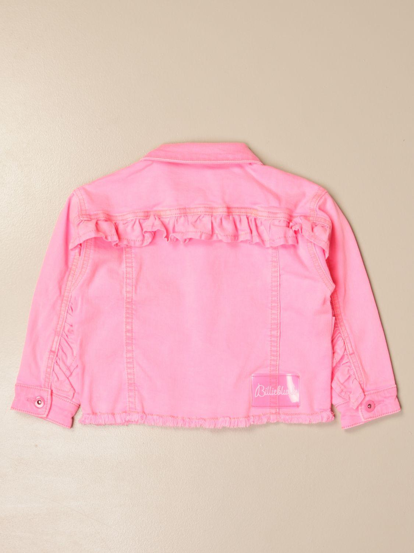 Chaqueta Billieblush: Chaqueta niños Billieblush rosa 2