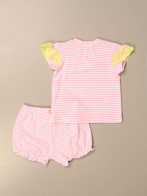 Completo Billieblush: Completo t-shirt + culotte Billieblush bianco 2
