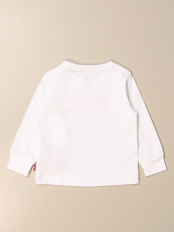 Jersey Levi's: Camiseta niños Levi's blanco 2