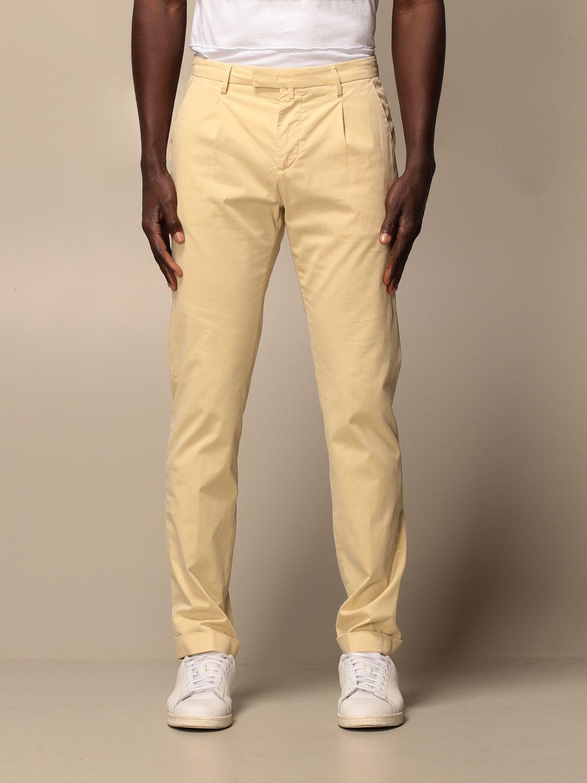 Trousers Briglia: Trousers men Briglia yellow 1