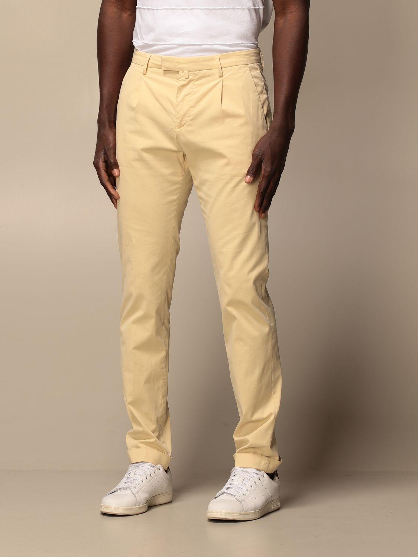 Trousers Briglia: Trousers men Briglia yellow 3
