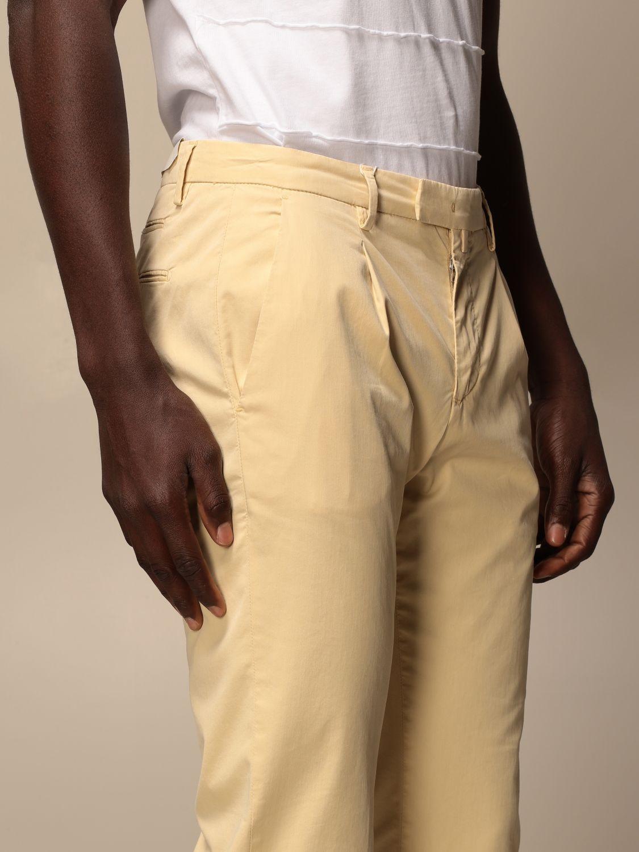Trousers Briglia: Trousers men Briglia yellow 4