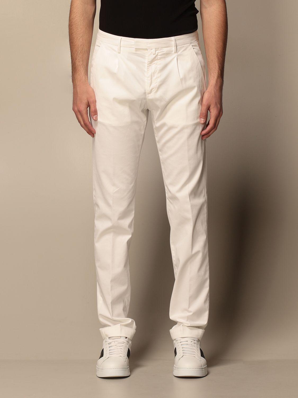 Trousers Briglia: Trousers men Briglia yellow cream 1