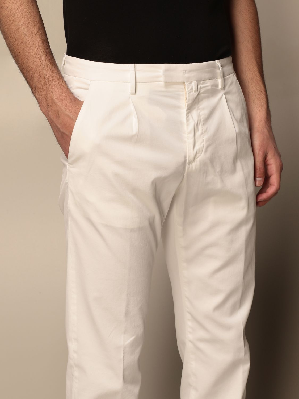 Trousers Briglia: Trousers men Briglia yellow cream 4