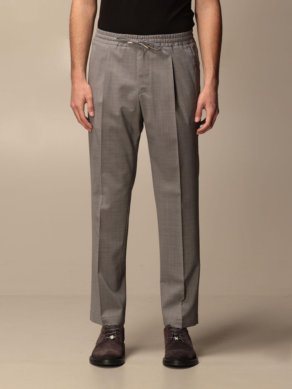 Pantalone Briglia: Pantalone jogging Briglia con tasche a filo grigio 1