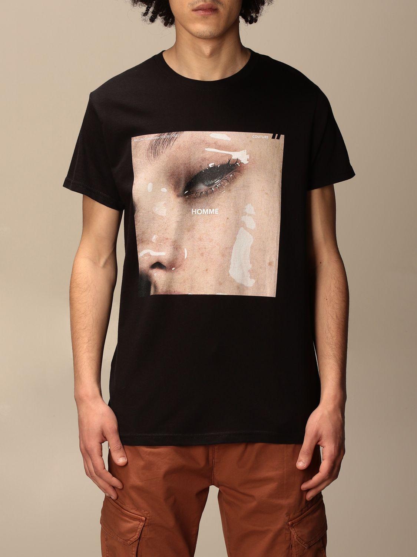 T恤 Daniele Alessandrini: 毛衣 男士 Daniele Alessandrini 黑色 1