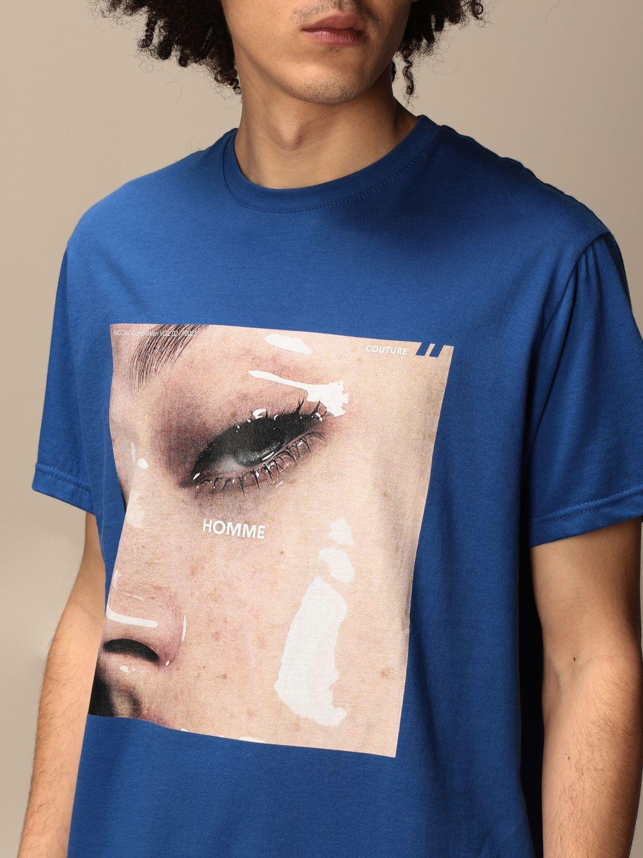 T-shirt Daniele Alessandrini: Jumper men Daniele Alessandrini royal blue 3