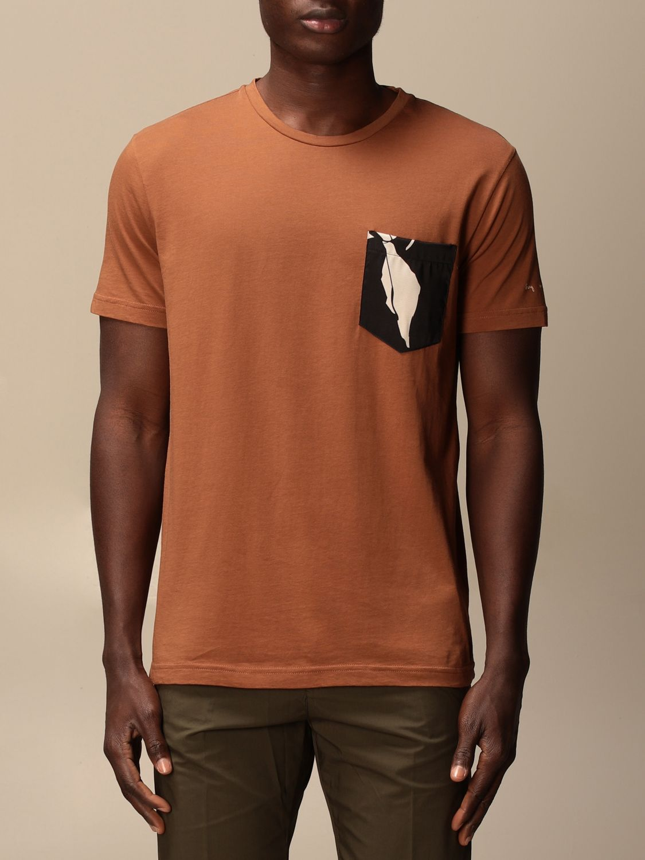 Camiseta Daniele Alessandrini: Jersey hombre Daniele Alessandrini tabaco 1