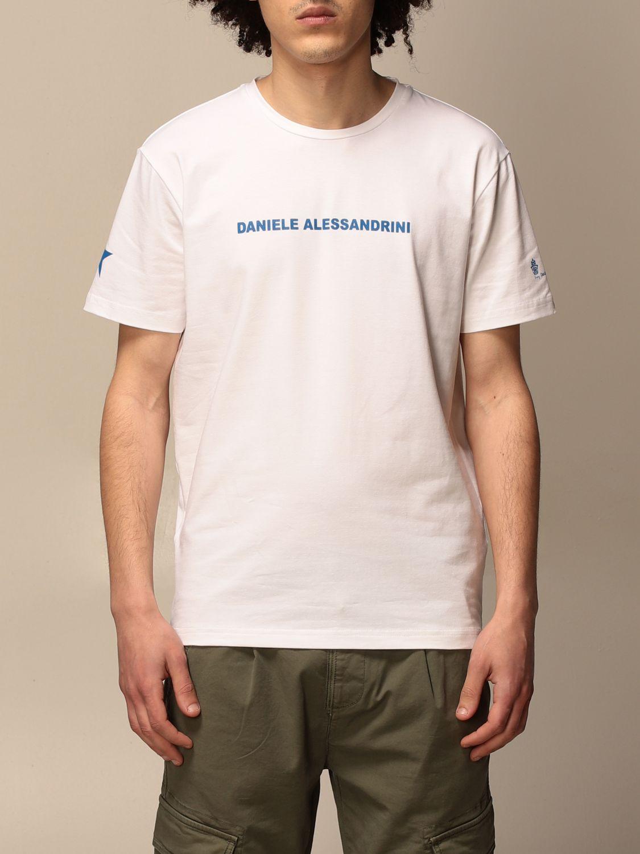 T-shirt Daniele Alessandrini: Daniele Alessandrini t-shirt with logo white 1