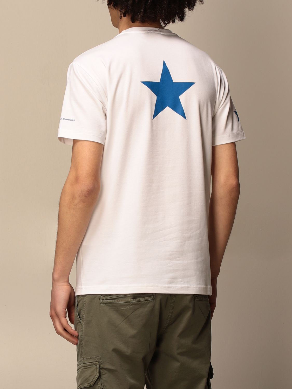 T-shirt Daniele Alessandrini: Daniele Alessandrini t-shirt with logo white 2