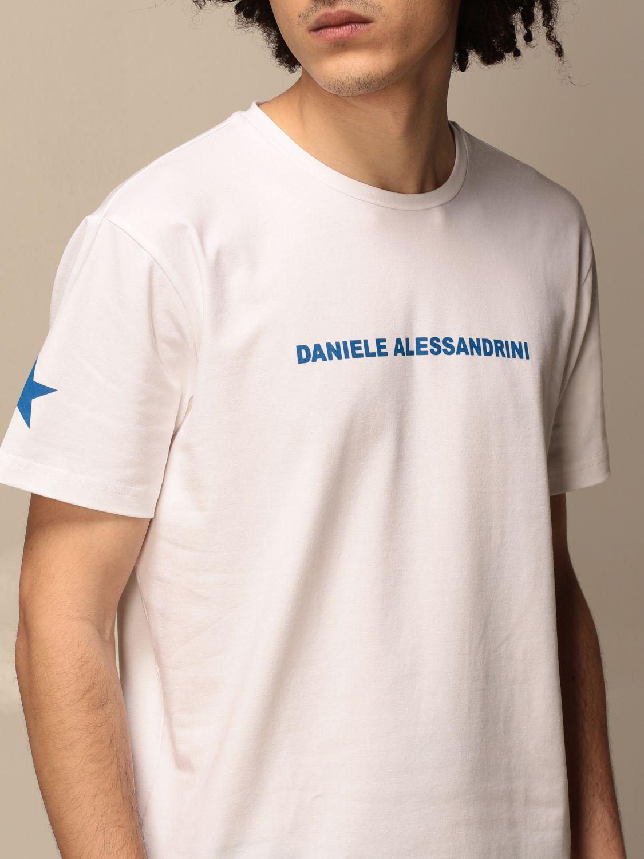 T-shirt Daniele Alessandrini: Daniele Alessandrini t-shirt with logo white 3