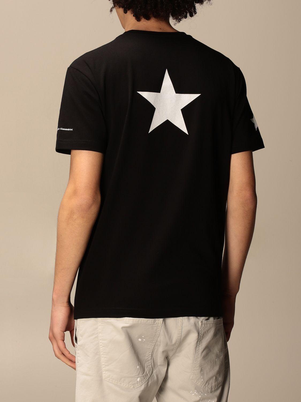 T恤 Daniele Alessandrini: 毛衣 男士 Daniele Alessandrini 黑色 2