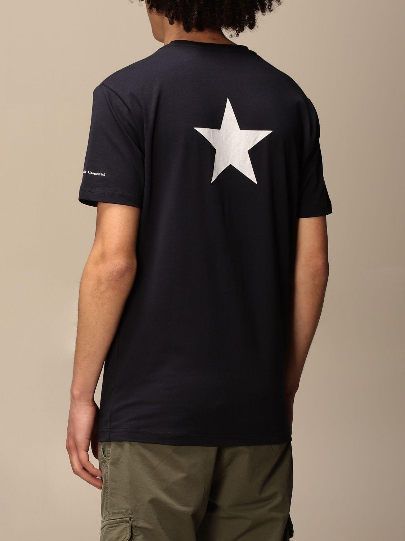 T-shirt Daniele Alessandrini: Pull homme Daniele Alessandrini bleu 2