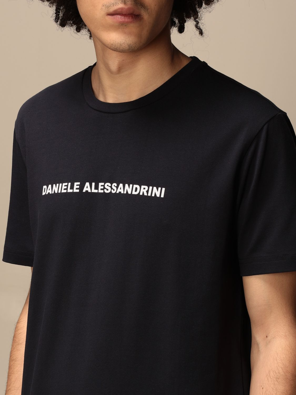 T-shirt Daniele Alessandrini: Pull homme Daniele Alessandrini bleu 3