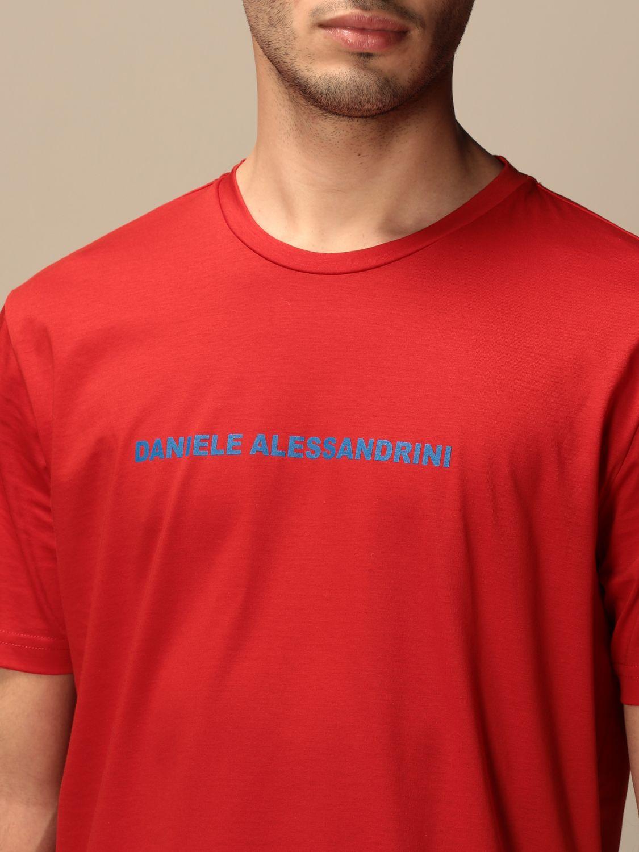 Camiseta Daniele Alessandrini: Jersey hombre Daniele Alessandrini rojo 3