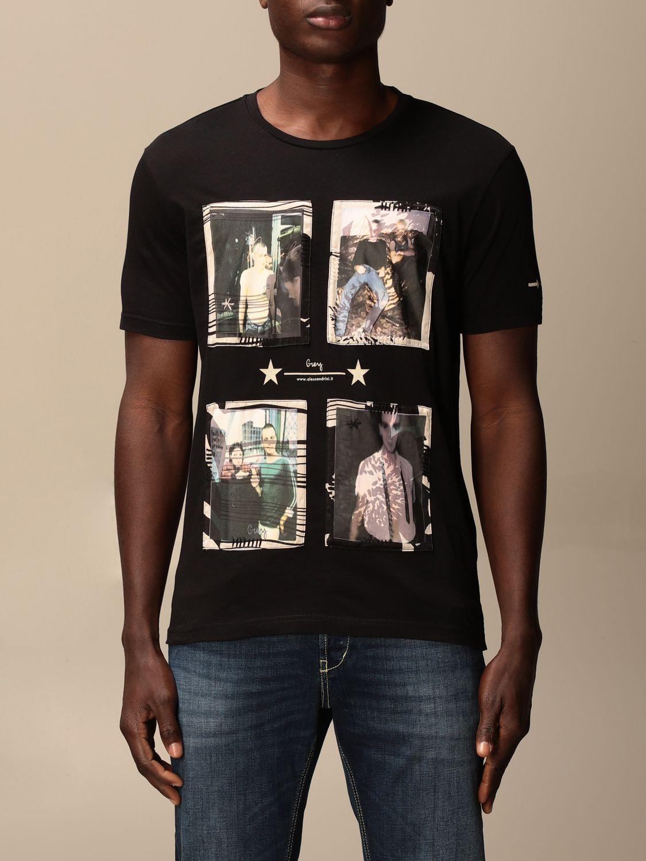 Camiseta Daniele Alessandrini: Jersey hombre Daniele Alessandrini negro 1