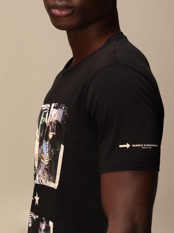 Camiseta Daniele Alessandrini: Jersey hombre Daniele Alessandrini negro 3