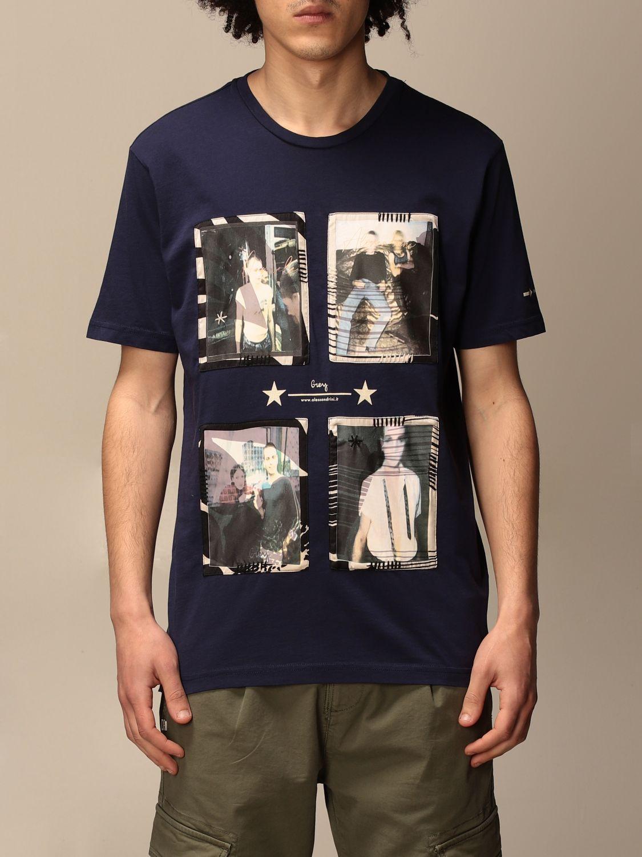 Camiseta Daniele Alessandrini: Jersey hombre Daniele Alessandrini azul oscuro 1